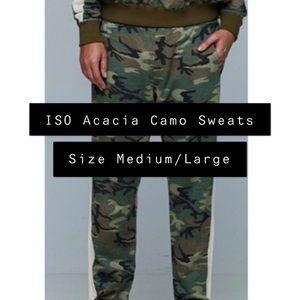 ISO Acacia Camo Sweats